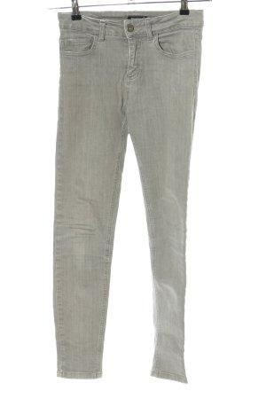 Prego Skinny Jeans hellgrau Casual-Look