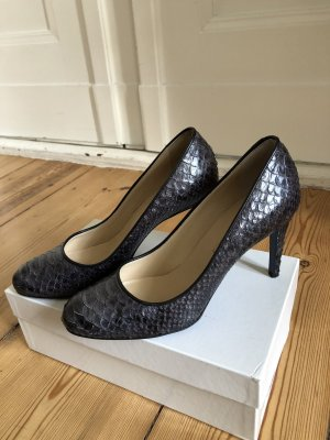 Prego Snake Leather Pumps Gr.38