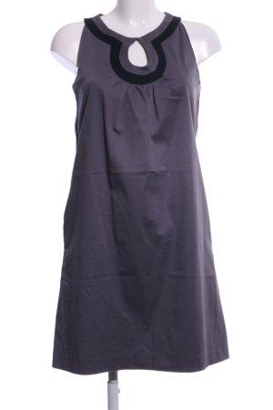 Prego Trägerkleid lila-schwarz Elegant