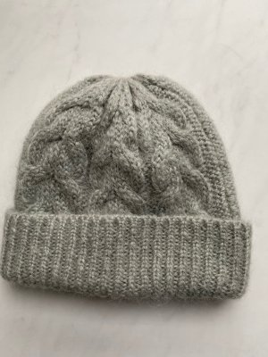 COS Knitted Hat pale blue