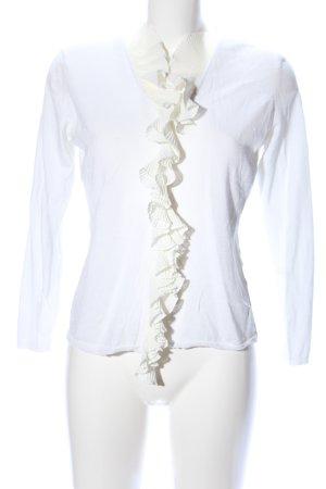 Prestige Elegance Cardigan weiß-creme Casual-Look