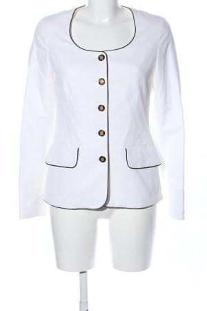 Prestige Elegance Jerseyblazer weiß Business-Look
