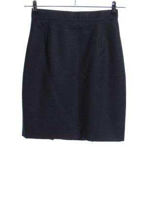 Prestige Elegance Minirock blau Business-Look