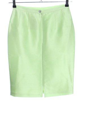 Prestige Elegance Silk Skirt green casual look