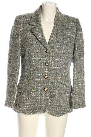 Prestige Elegance Blazer de lana gris claro look casual