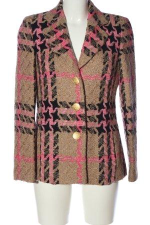 Prestige Cappotto in lana motivo a quadri stile casual