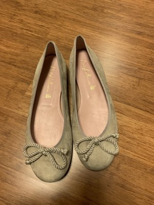 Pretty ballerinas Mary Jane Ballerinas oatmeal-nude suede