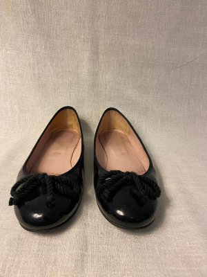 Pretty ballerinas Ballerina di pelle verniciata nero