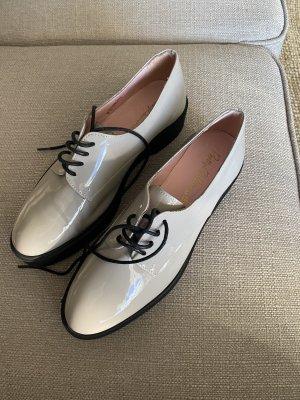 Pretty Ballerinas 37,5 37 grau taupe Schuhe sneaker