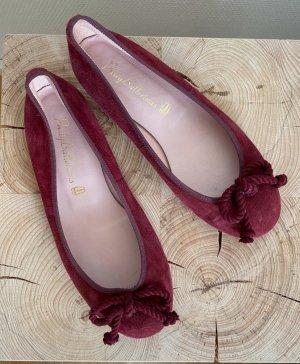 Pretty ballerinas Ballerines classiques bordeau-rouge mûre