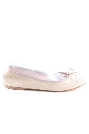 Pretty ballerinas Ballerinas mit Spitze wollweiß Casual-Look