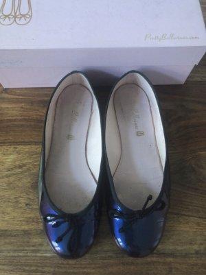 Pretty ballerinas blau lila 39