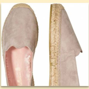 Pretty Ballerinas Espadrilles taupe/grau Gr 37