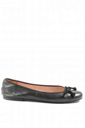 Pretty ballerinas Foldable Ballet Flats black casual look