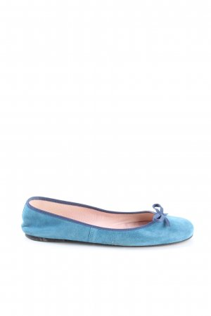 Pretty ballerinas Bailarinas plegables azul look casual