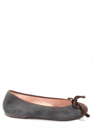 Pretty ballerinas Foldable Ballet Flats light grey-brown casual look