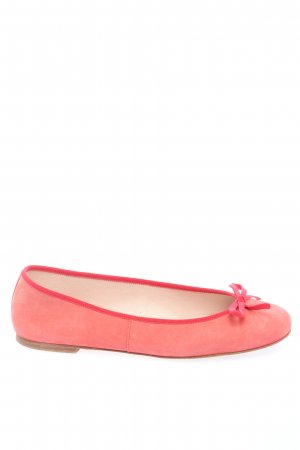 Pretty ballerinas Foldable Ballet Flats red casual look