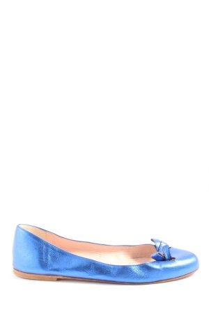Pretty ballerinas faltbare Ballerinas blau Casual-Look