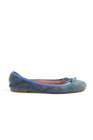 Pretty ballerinas faltbare Ballerinas blau Casual-Look