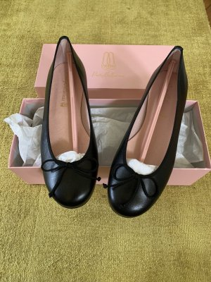 Pretty Ballerinas in glattleder Schwarz