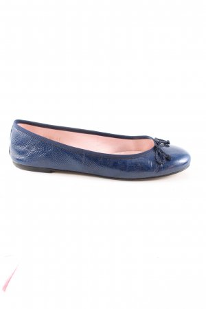 Pretty ballerinas Lackballerinas blau Casual-Look