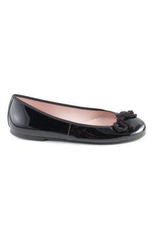 Pretty ballerinas Lakleren ballerina's zwart casual uitstraling