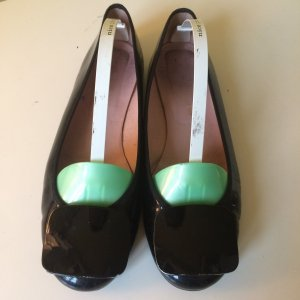 Pretty Ballerinas Lackleder Ballerinas 60er Jahre Look Gr. 39