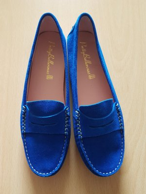 Pretty Ballerinas Loafer Mokassins royalblau Gr. 37