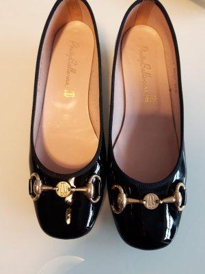 Pretty ballerinas Ballerines en cuir verni noir