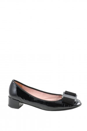 Pretty ballerinas Lackballerinas schwarz Business-Look