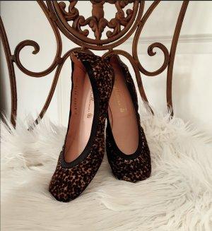 Pretty Ballerinas Schuhe Sandalen Leo animalprint 38