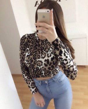Pretty Body Leo Shirt Crop XS S Blogger