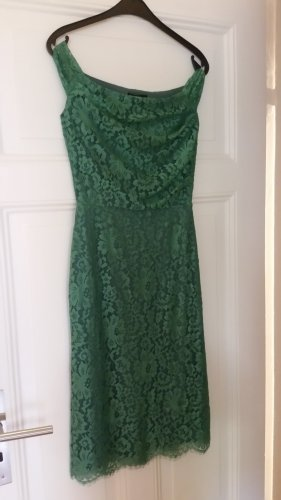 Lace Dress sage green-lime-green
