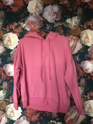 Pretty in Pink: Oversize 90s Style Hoodie