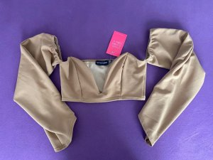 Pretty Little Thing Corsage Top beige