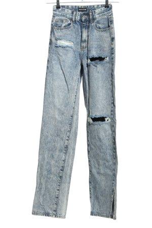 Pretty Little Thing High Waist Jeans blau Casual-Look