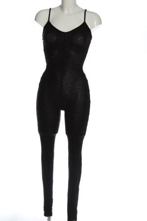 Pretty Little Thing Langer Jumpsuit schwarz schlichter Stil