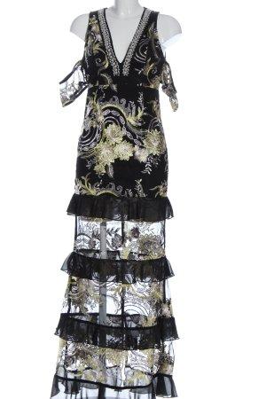 PrettyLittleThing Abendkleid Allover-Druck Elegant
