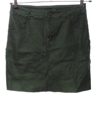 PrettyLittleThing Bleistiftrock grün Casual-Look