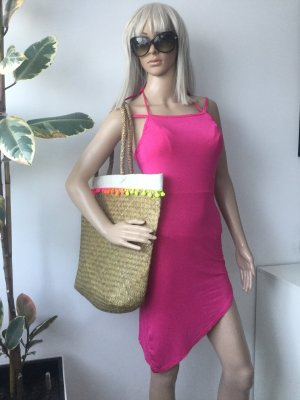 Prettylittlething Damen Asymmetrisches Beach Kleid Gr.S