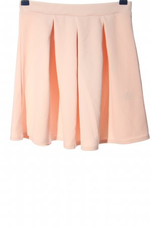 PrettyLittleThing Flared Skirt pink casual look