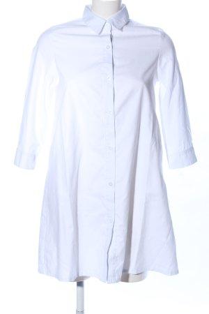 PrettyLittleThing Hemdblusenkleid weiß Business-Look