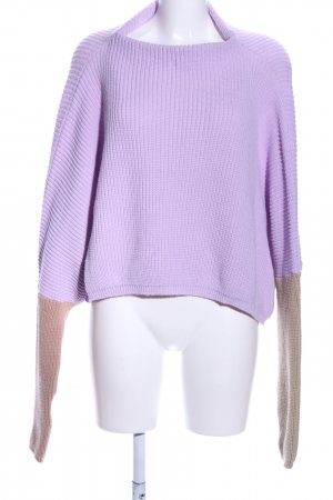 PrettyLittleThing Oversized Pullover lila-braun Casual-Look