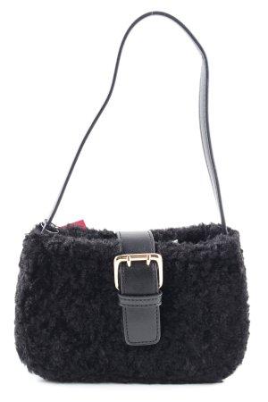 PrettyLittleThing Schultertasche schwarz extravaganter Stil