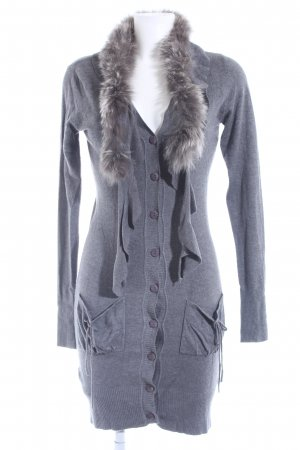 Preziosa Strick Cardigan grau Casual-Look
