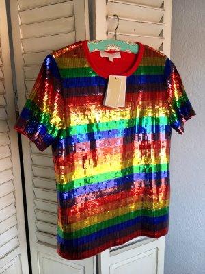 Pride Regenbogen pailietten Shirt