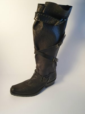 Primabase Gotyckie buty czarny Skóra