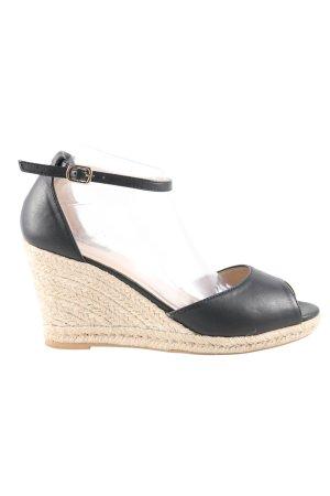 primadonna High Heel Sandaletten schwarz-creme Casual-Look