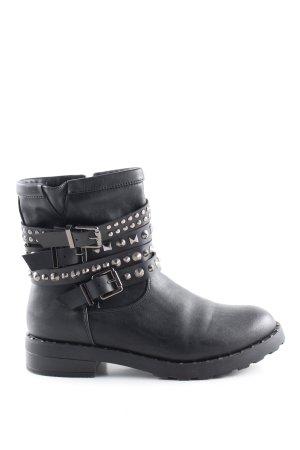 primadonna Reißverschluss-Stiefeletten schwarz Casual-Look