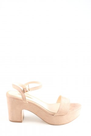 primadonna Strapped High-Heeled Sandals nude casual look